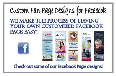 Custome Facebook Fan Page